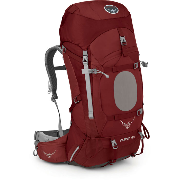 batoh OSPREY Aether 60 Arroyo Red