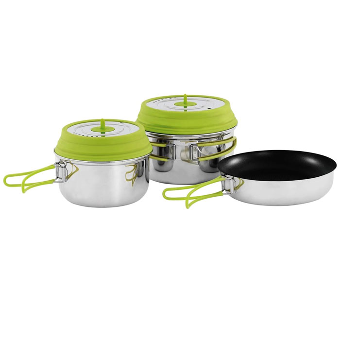 nerezový riad OUTWELL Gastro Cook Set L