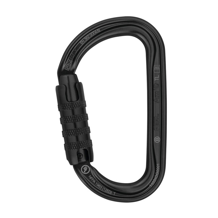 karabína PETZL Am´D TRIACT-LOCK Black