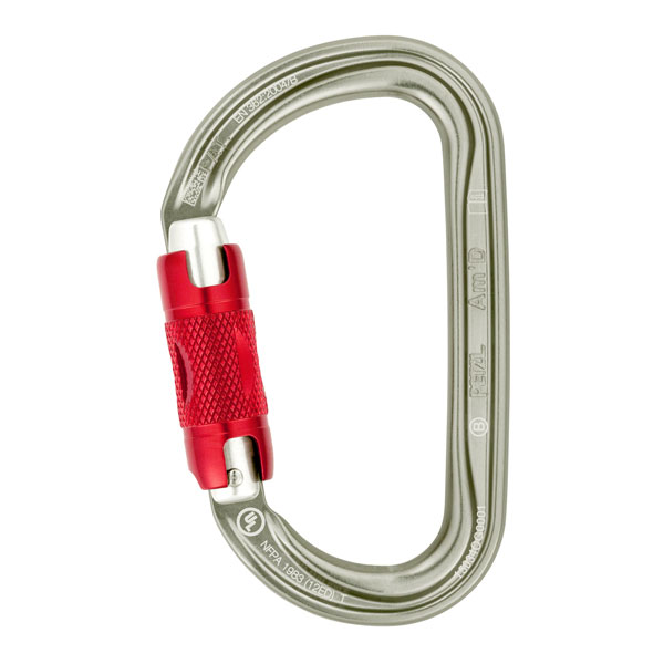 karabína PETZL Am´D TWIST-LOCK
