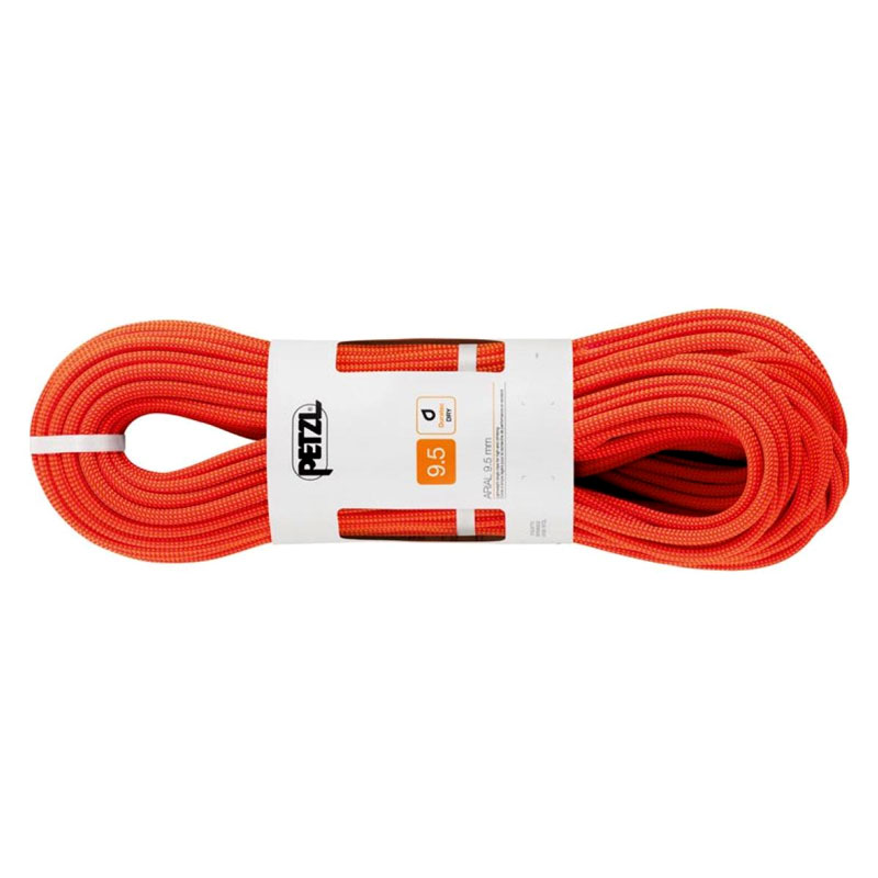 lano PETZL Arial 9.5mm 60m Orange