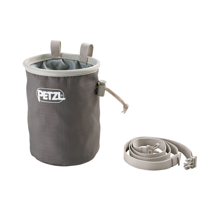 vrecko PETZL Bandi Chalk Bag Gray