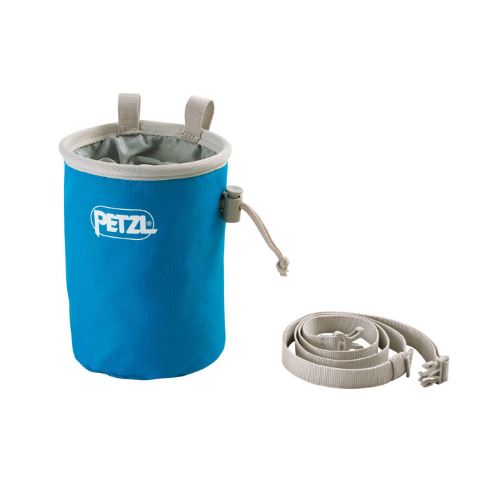 vrecko PETZL Bandi Chalk Bag Methyl Blue