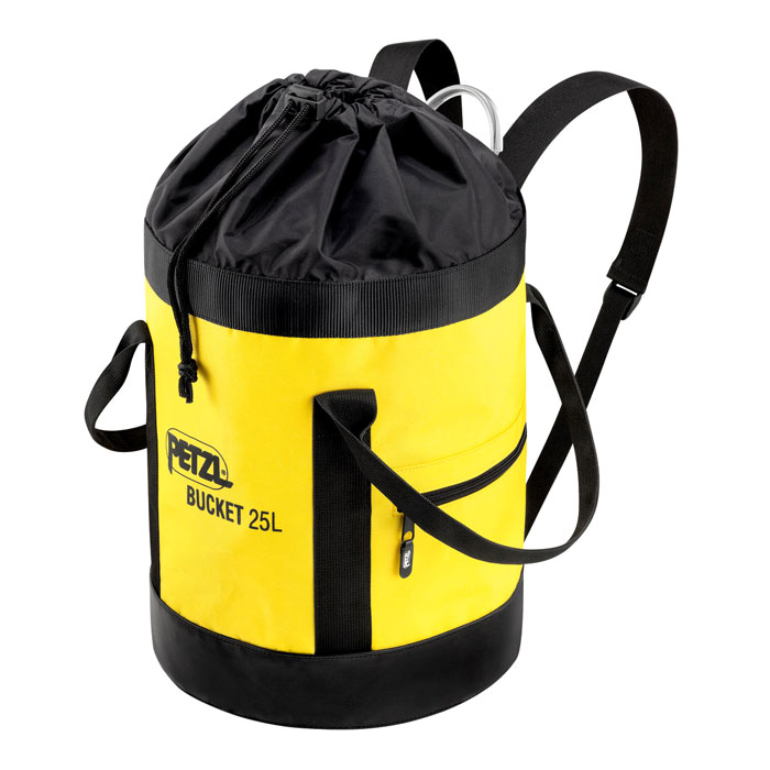 vak PETZL Bucket 25 L Yellow
