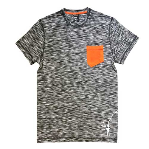 tričko PETZL City Sport Men´s T-shirt Asphalt Effect
