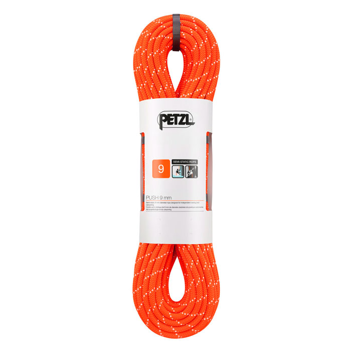 lano PETZL Push 9mm 60m Orange