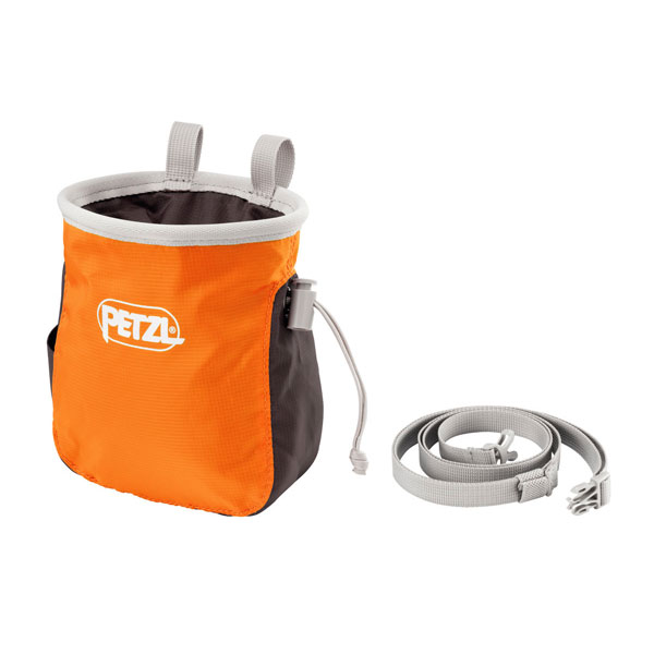 vrecko PETZL Saka Chalk Bag Orange