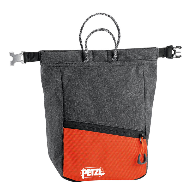 vrecko PETZL Sakab Chalk Bag Gray