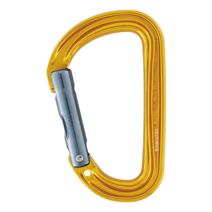 karabína PETZL Sm´D WALL Yellow
