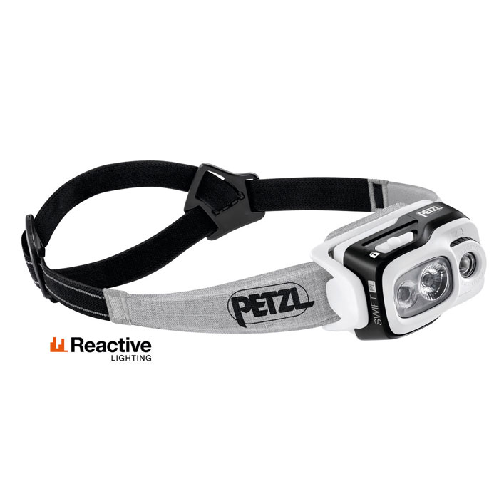 čelovka PETZL SWIFT RL 900 lumens Black