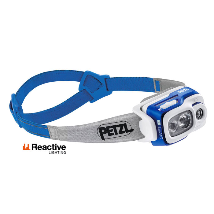 čelovka PETZL SWIFT RL 900 lumens Blue