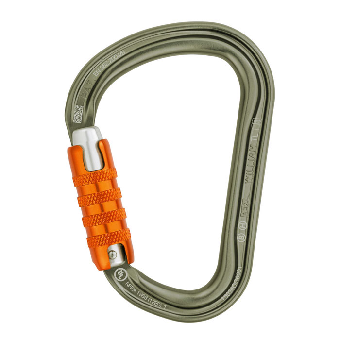 karabína PETZL William TRIACT-LOCK