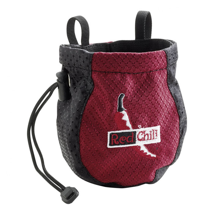 vrecko na magnézium RED CHILLI Chalk Bag Kiddy Red