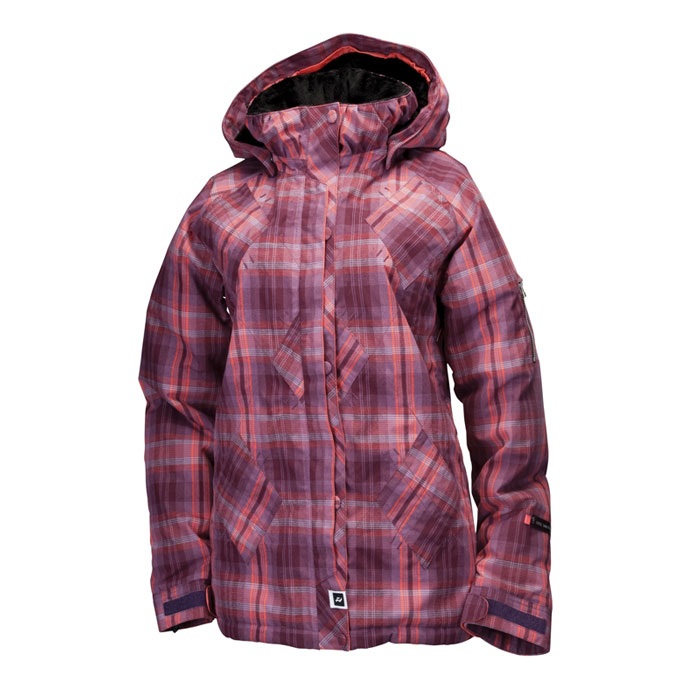 bunda RIDE Madison Jkt. Insulated Cline Plaid Flannel