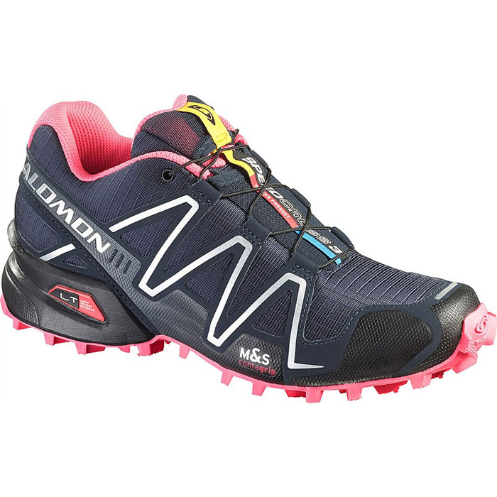 obuv SALOMON Speedcross 3 W Deep Blue/Black/Fluo Pink