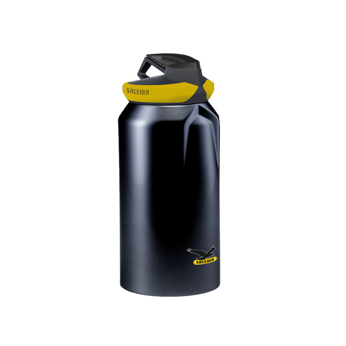 f�a�a SALEWA Hiker Bottle Black 0.5 L