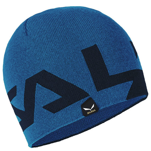 čiapka SALEWA Antelao 2 Reversible WO Beanie Dark Denim