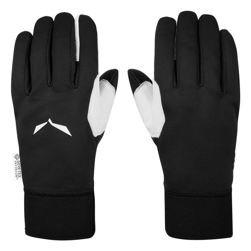 rukavice SALEWA Sesvenna WS GRIP Gloves L (9) Black Out
