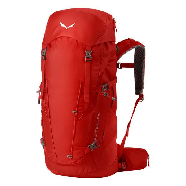 batoh SALEWA AlpTrek 50+5 BP Pompei Red