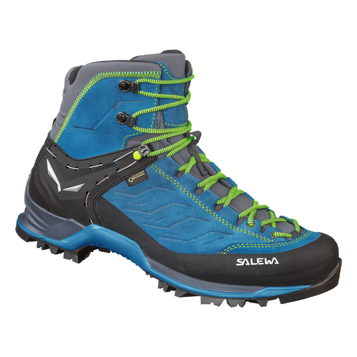 obuv SALEWA MS MTN Trainer MID GTX Poseidon/Fluo Yellow