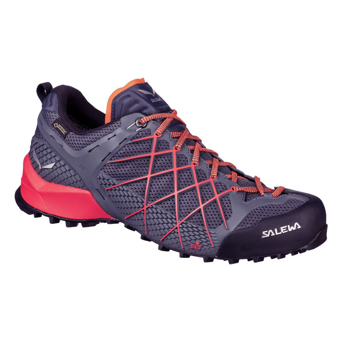 obuv SALEWA MS Wildfire GTX Ombre Blue/Fluo Orange