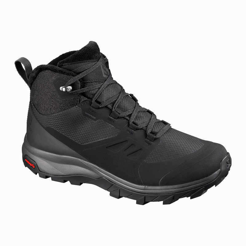 obuv SALOMON OUTsnap CS WP W Black/Ebony/Black
