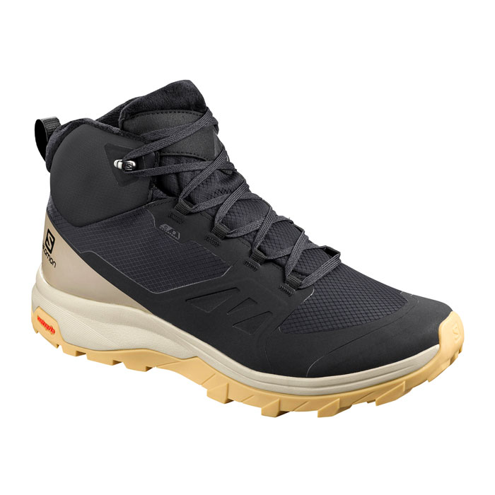 obuv SALOMON OUTsnap CS WP W Black/Vintage Kaki