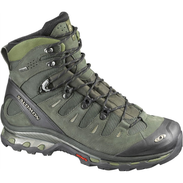 obuv SALOMON Quest 4D GTX Olive/Dark Olive/Black