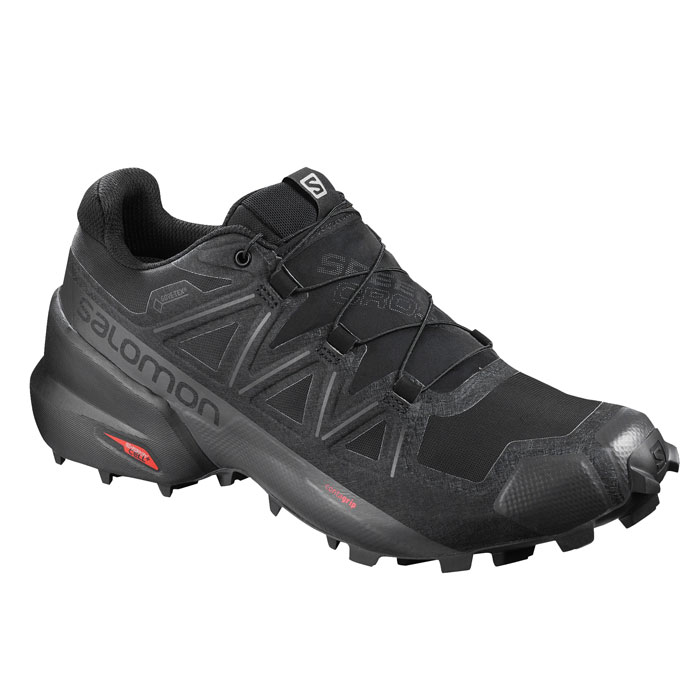 obuv SALOMON Speedcross 5 GTX Black/Black/Phantom