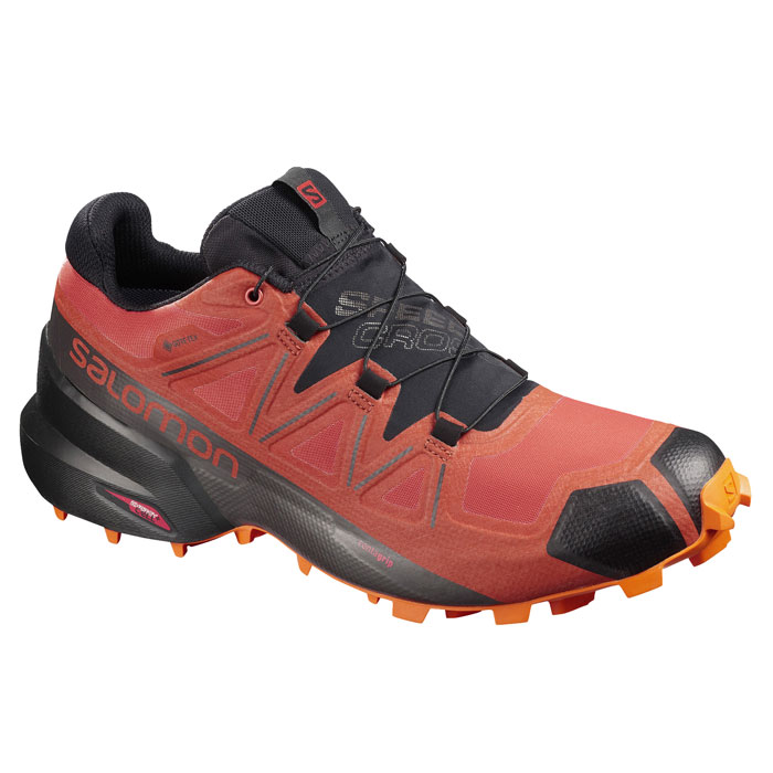 obuv SALOMON Speedcross 5 GTX Burnt Brick/Black/Exuberance