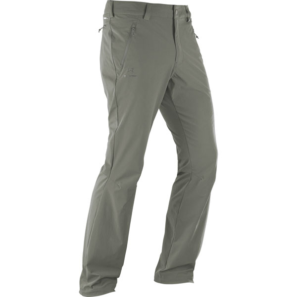 nohavice SALOMON Wayfarer Straight LT Pant M Forged Iron