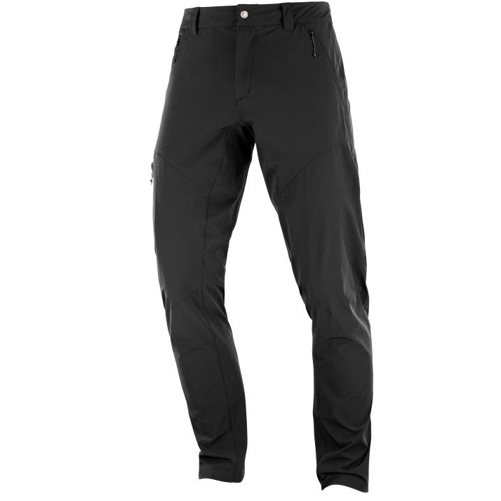nohavice SALOMON Wayfarer Tapered Pant M Black