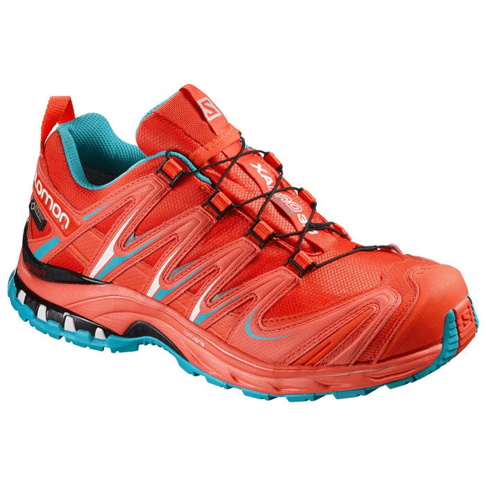 obuv SALOMON XA Pro 3D GTX W Lava Orange/Tomato Red/Blue Jay