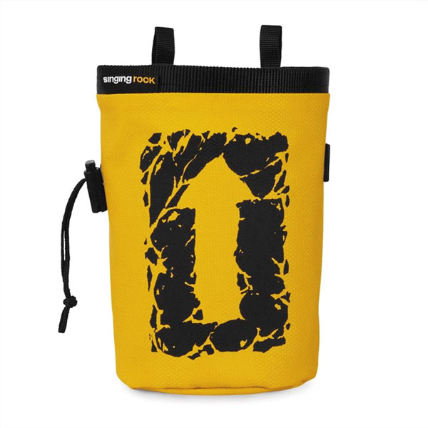 vrecko SINGING ROCK Chalk Bag Large Yellow