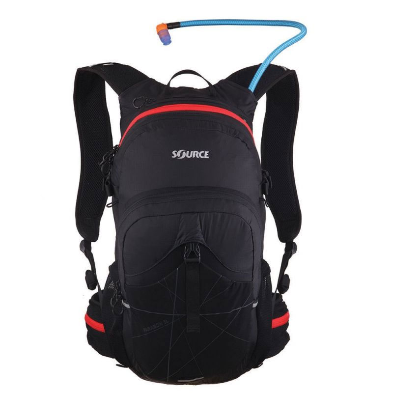 batoh SOURCE Paragon 25L Black/Red