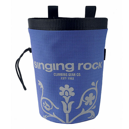 vrecko SINGING ROCK Chalk bag L Blue