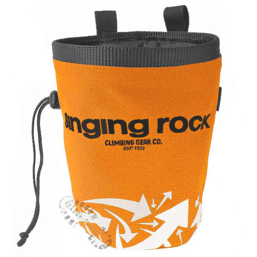 vrecko SINGING ROCK Chalk Bag L Orange