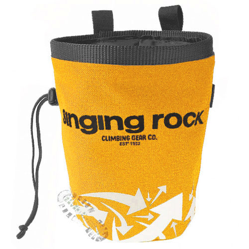 vrecko SINGING ROCK Chalk Bag L Yellow