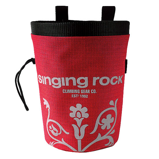 vrecko SINGING ROCK Chalk Bag L Red