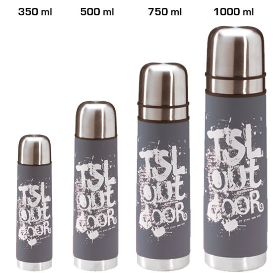 termoska TSL Outdoor Flask Grey 350 ml