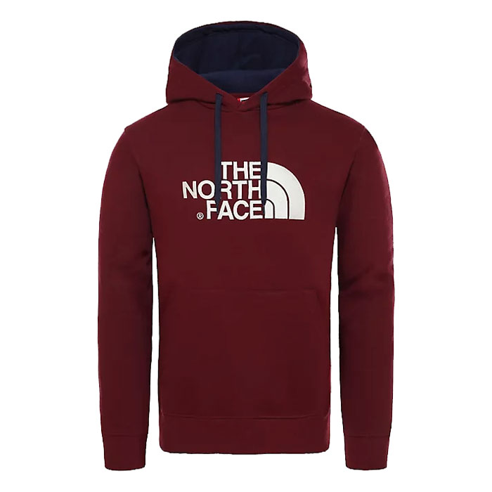 mikina THE NORTH FACE M Drew Peak PLV Hoodie Deep Garnet Red