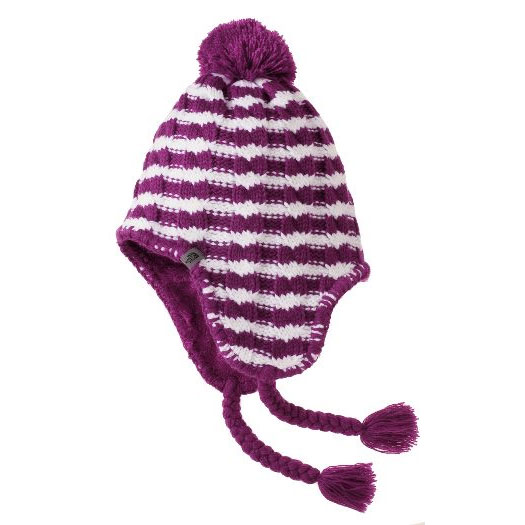 čiapka THE NORTH FACE Fuzzy Earflap Beanie Purple