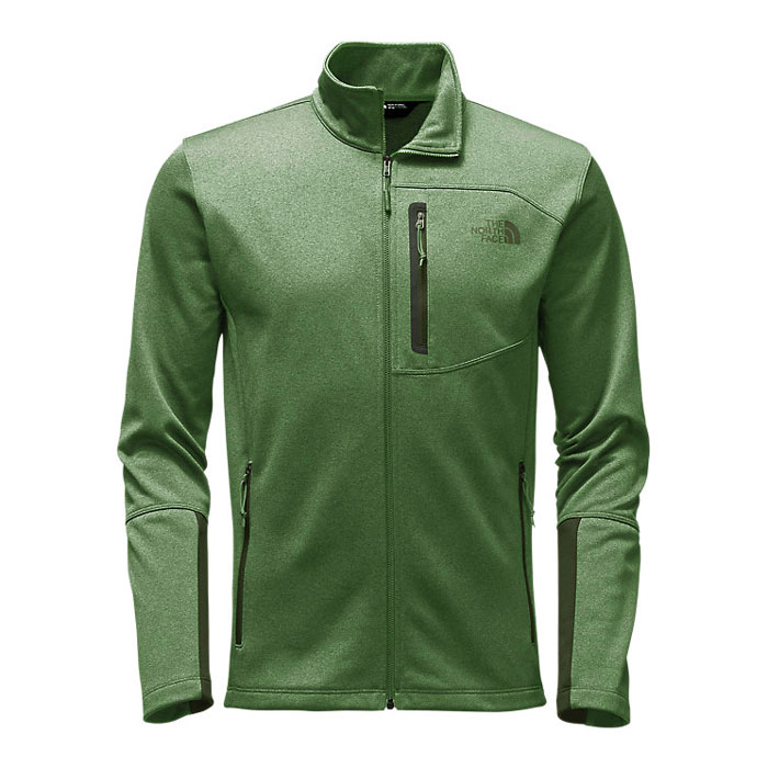 mikina THE NORTH FACE M CanyonLands Full Zip Duck Green