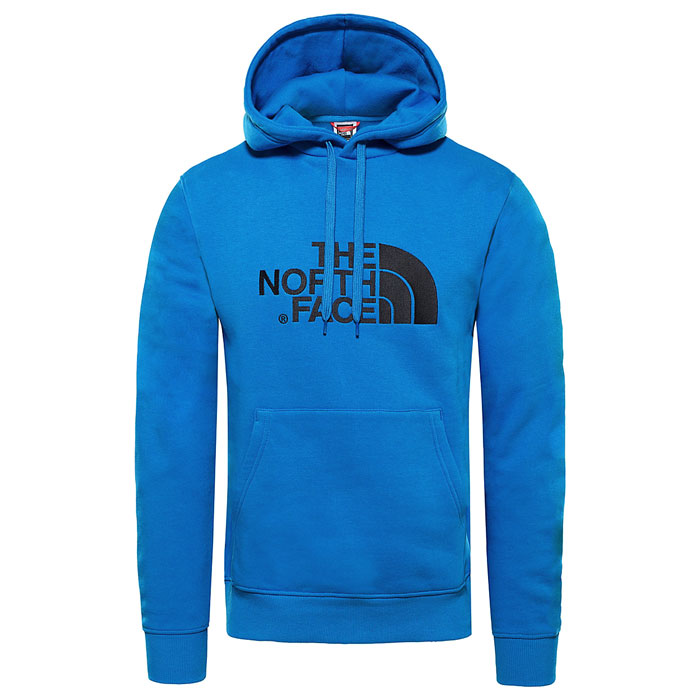 mikina THE NORTH FACE M LT Drew Peak PO HD Bomber Blue/Tnf Black