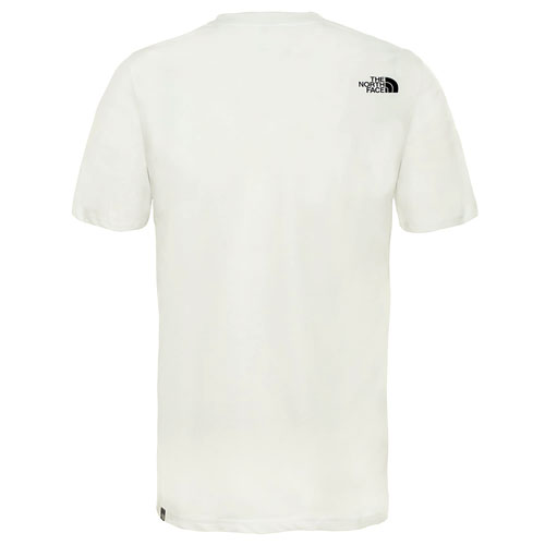 tričko THE NORTH FACE M S/S Flash Tee Tnf White/Tnf Black