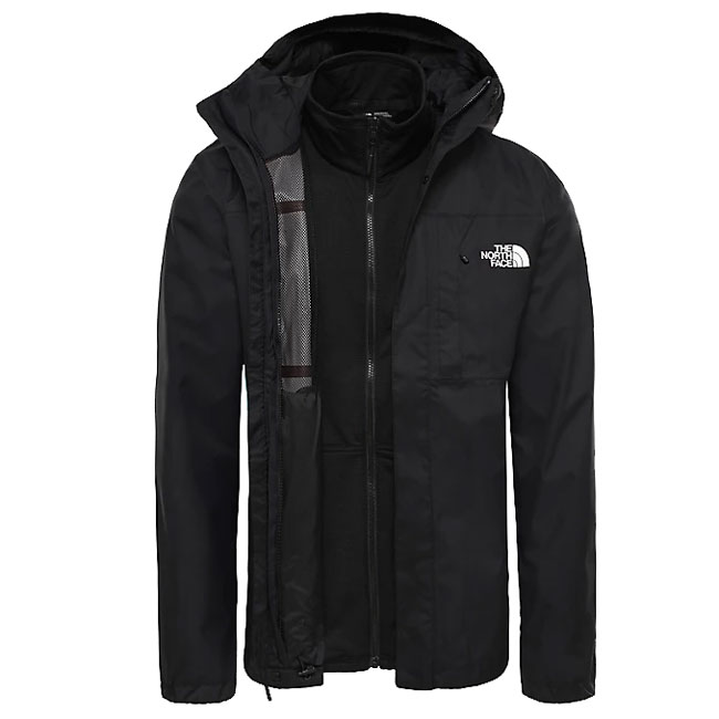bunda THE NORTH FACE M Quest Zip-in Triclimate Jkt. Tnf Black