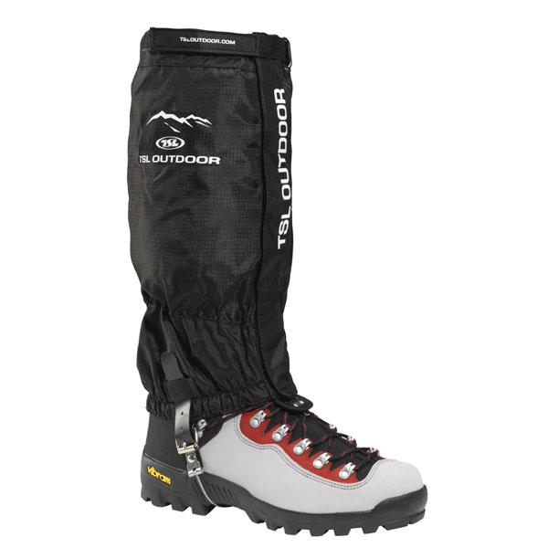 gamaše TSL Outdoor High Trek L Black