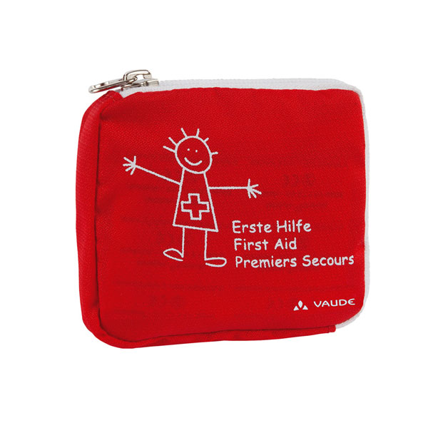 lekárnička VAUDE Kids First Aid Red/White