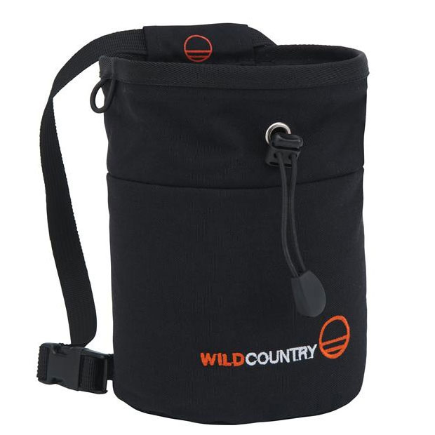 vrecko na magn�zium WILD COUNTRY Petit Bloc Chalk Bag Black