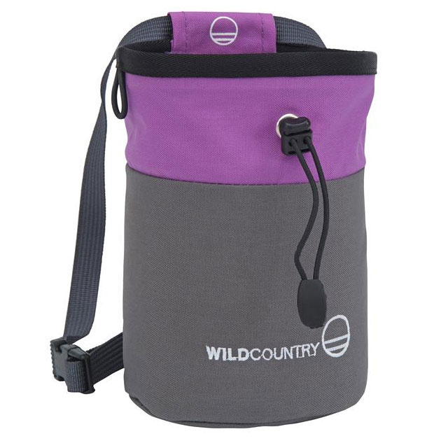 vrecko na magn�zium WILD COUNTRY Petit Bloc Chalk Bag Grey-Purpl